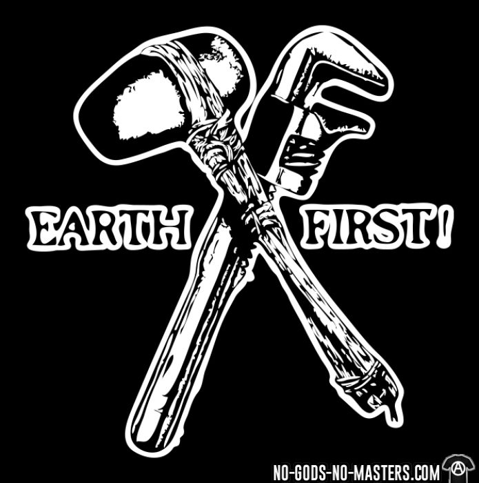 Earth first! - T-shirt organique Environnementaliste
