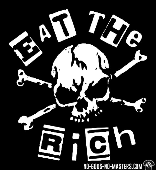 Eat the rich - T-shirt Working Class
