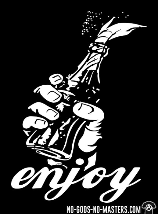 Enjoy - T-shirt Militant