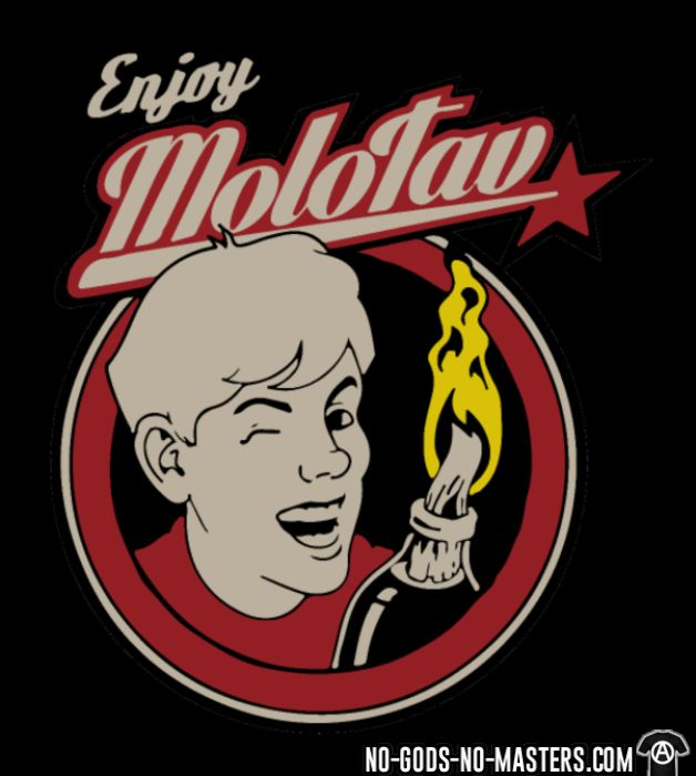 Enjoy Molotov - T-shirt Militant