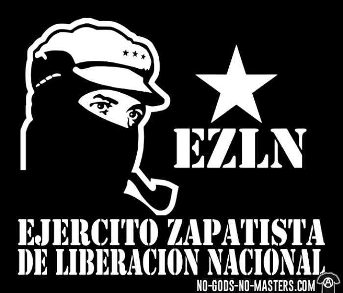 the ezln Subcomandante marcos has faced charges for terrorism and illegal firearms possession since 1995, one year after the zapatistas declared war on mexico.