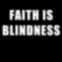 Faith is blindness - Débardeur pour femme Athé