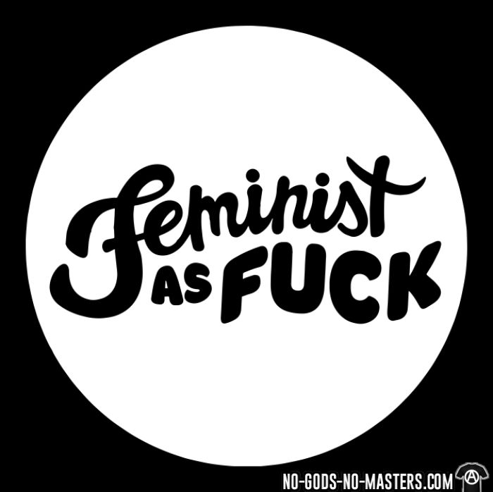 Feminist as fuck - T-shirt Féministe