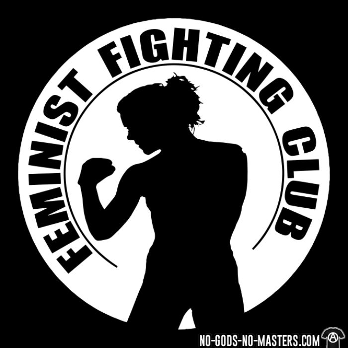 Feminist fighting club - T-shirt Féministe