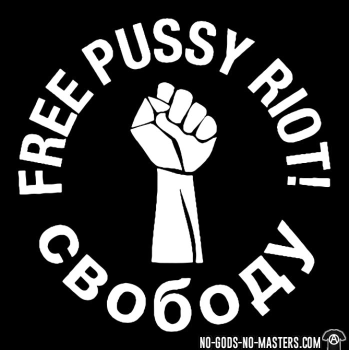 Free pussy riot - T-shirt Féministe