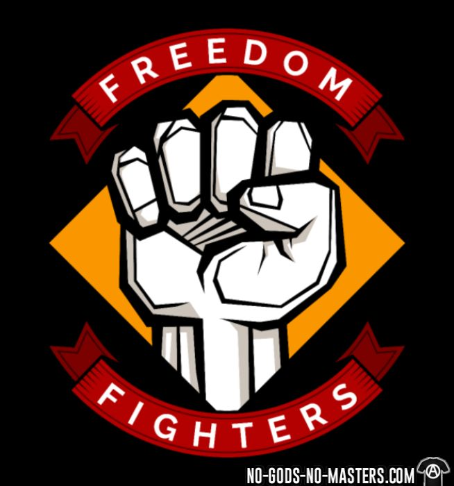 Freedom fighters - T-shirt Militant