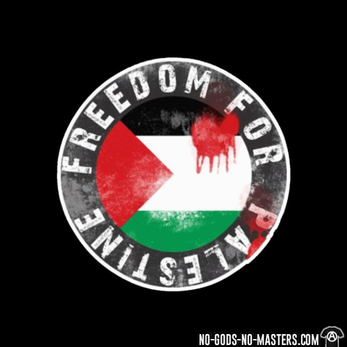 Freedom for palestine - T-shirt anti-guerre
