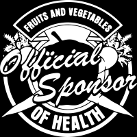 Fruits and vegetables - official sponsor of health - T-shirt véganes et libération animale