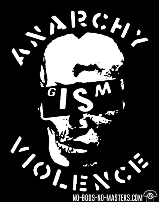 G.I.S.M. - Anarchy Violence - T-shirt Band Merch