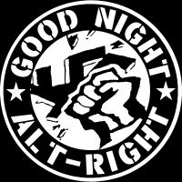 Good night alt-right - T-shirt Anti-Fasciste