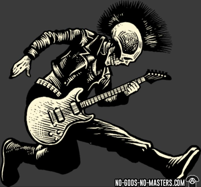 Guitar punk - T-shirt Punk