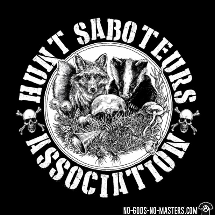 Hunt saboteurs association - T-shirt véganes et libération animale