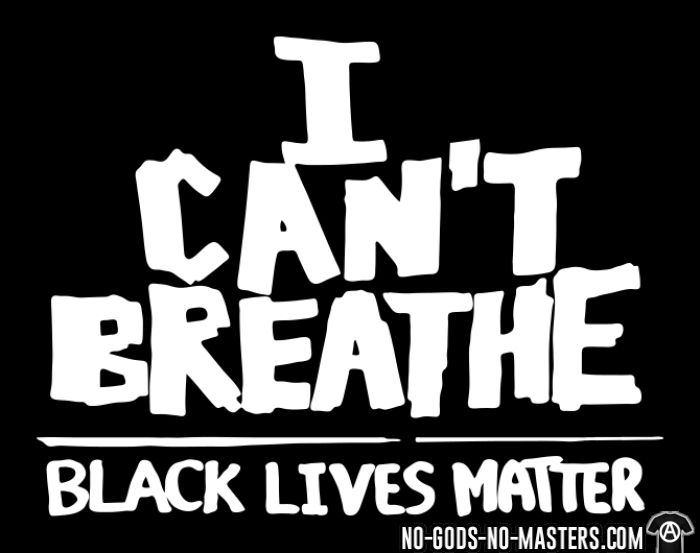 I Can't Breathe - Black Lives Matter - Black Lives Matter T-shirt
