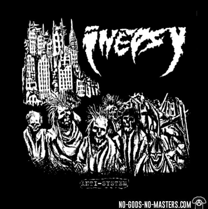 Inepsy - anti-system - T-shirt Band Merch