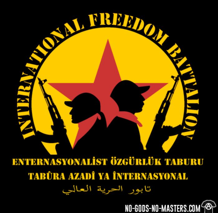 International freedom battalion - Débardeur pour homme Rojava