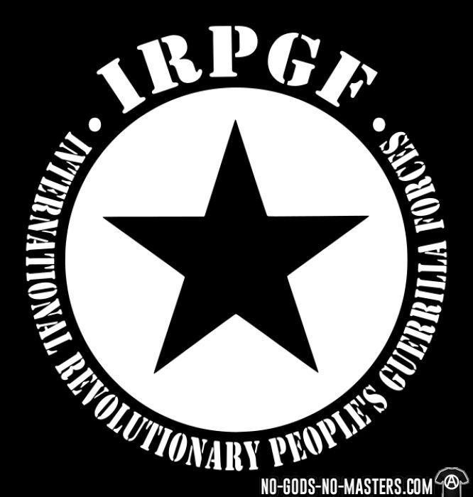 IRPGF International Revolutionary People's Guerilla Forces - T-shirt Rojava