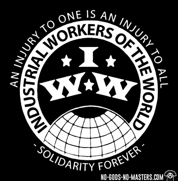 IWW - Industrial Workers of the World - an injury to one is an injury to all - solidarity forever - Débardeur pour homme Working Class