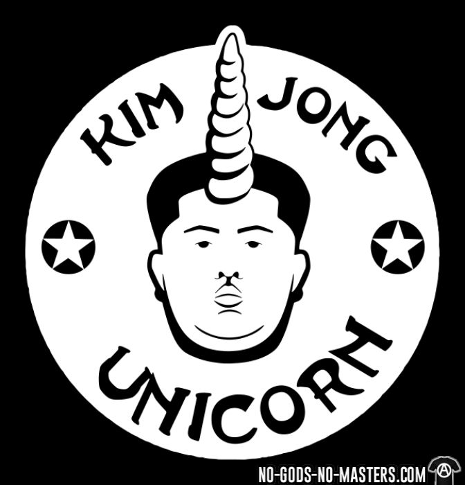 Kim Jong Unicorn - Sweat zippé humour engagé