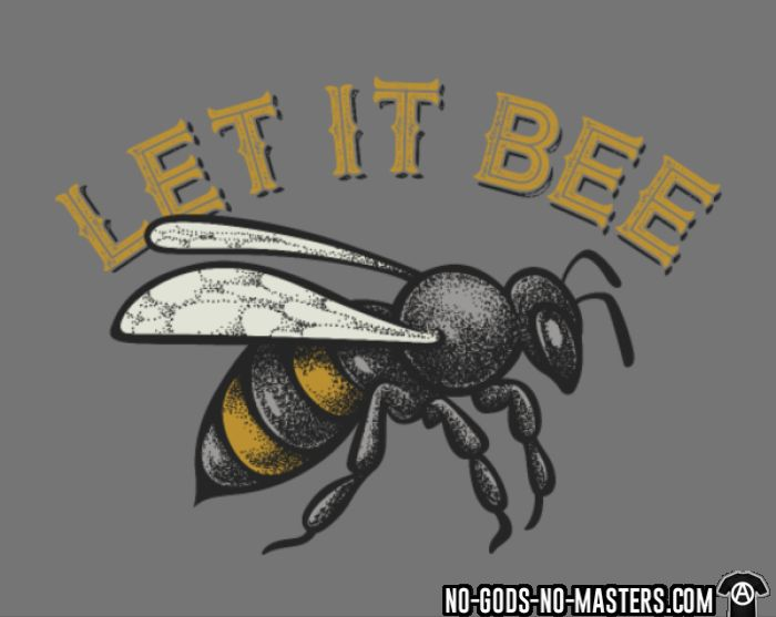 Let it bee - T-shirt Environnementaliste