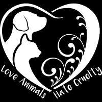 Love animals, hate cruelty - T-shirt véganes et libération animale