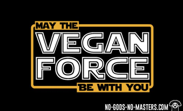 May the vegan force be with you - T-shirt véganes et libération animale