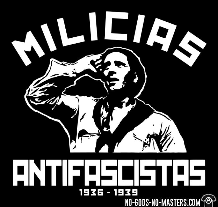 Milicias antifascistas 1936-1939 - T-shirt Révolution espagnole 1936