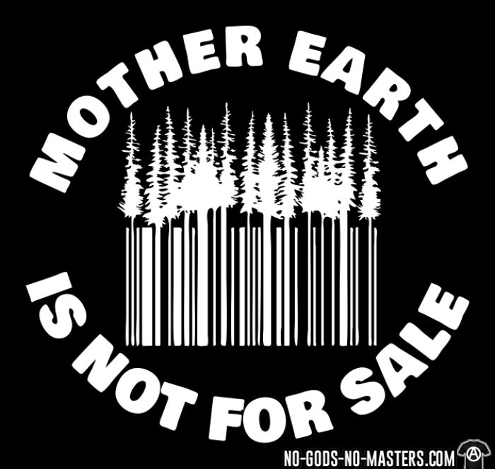 Mother earth is not for sale - T-shirt Environnementaliste