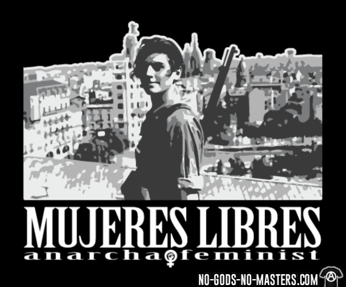 Mujeres libres anarcha-feminist - T-shirt Féministe