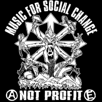 Music for social change not profit - Débardeur pour homme Punk
