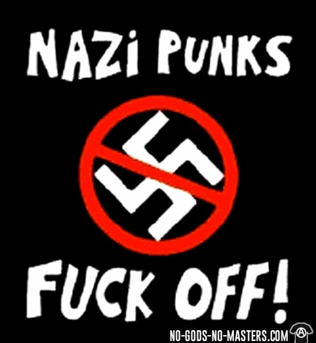 Nazi punks fuck off! - Sweat à capuche (Hoodie) Anti-Fasciste