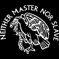 Neither master nor slave - T-shirt Militant