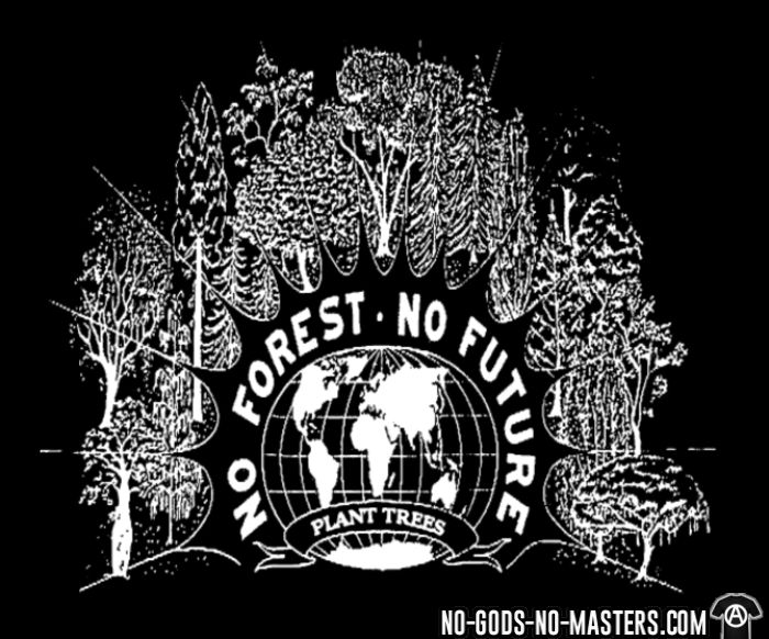 No forest, no future - plant trees - T-shirt Environnementaliste
