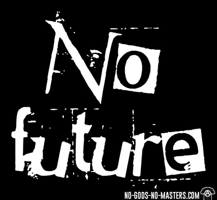 No future - T-shirt organique Punk
