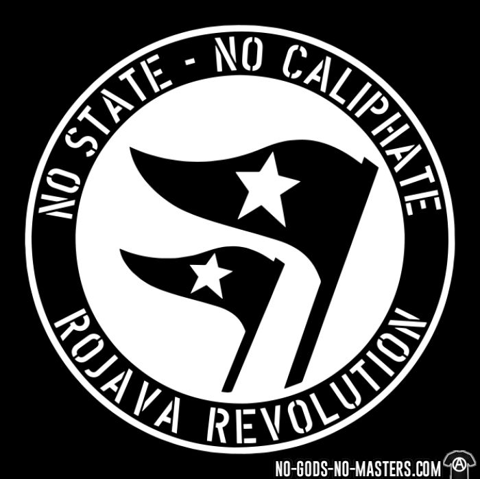 No state - no caliphate. Rojava revolution - T-shirts pour enfant Rojava