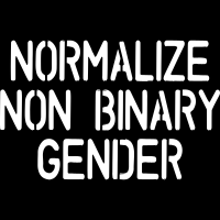 Normalize non binary gender - T-shirt organique Féministe