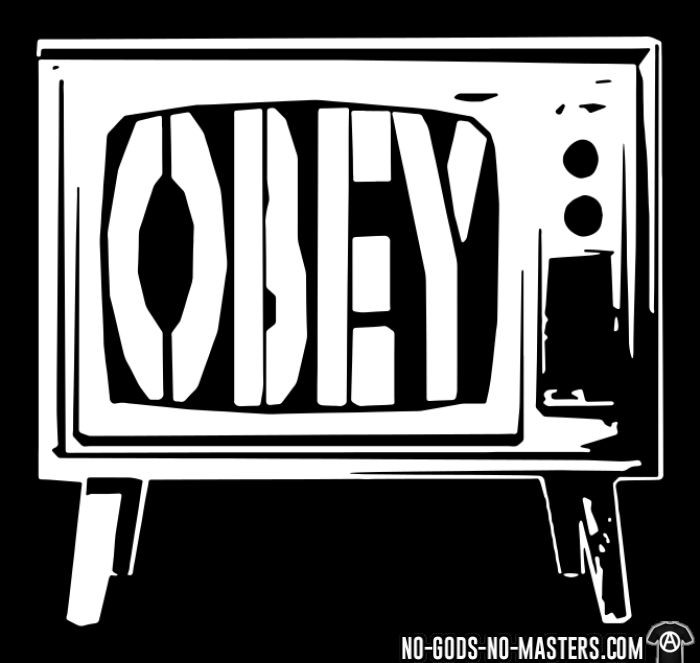 Obey TV - T-shirt Militant