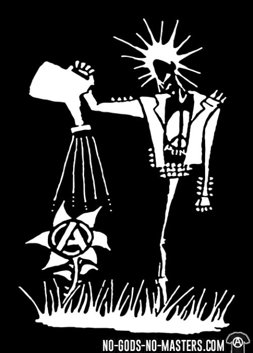 Punk planting the seeds of Anarchy - T-shirt organique Punk