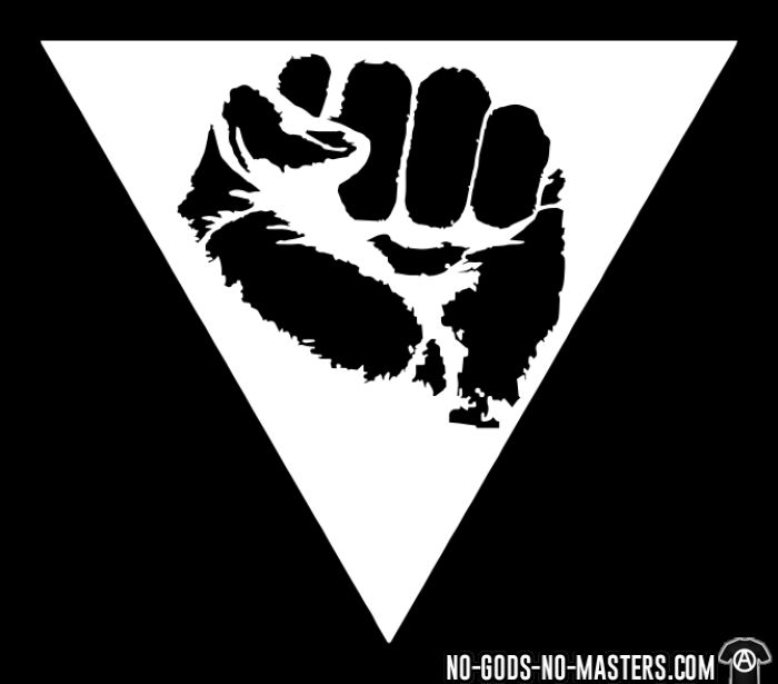 Queer pink triangle - T-shirt Féministe