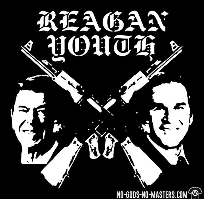 Reagan Youth - Débardeur pour femme Band Merch
