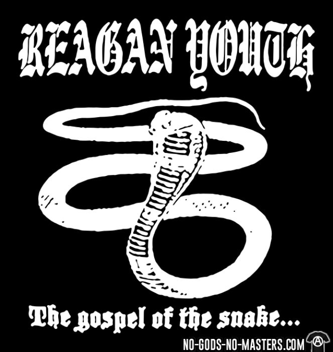 Reagan Youth - The gospel of the snake - T-shirt Band Merch