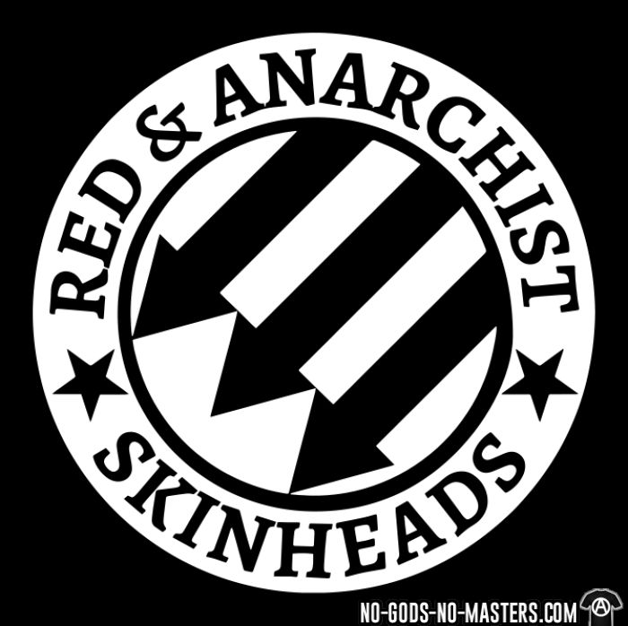 Red & anarchist skinheads - Chandails à manches longues Skinhead
