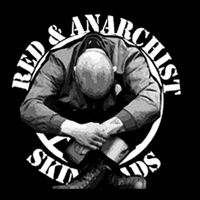 Red & Anarchist SkinHeads - T-shirt Skinhead