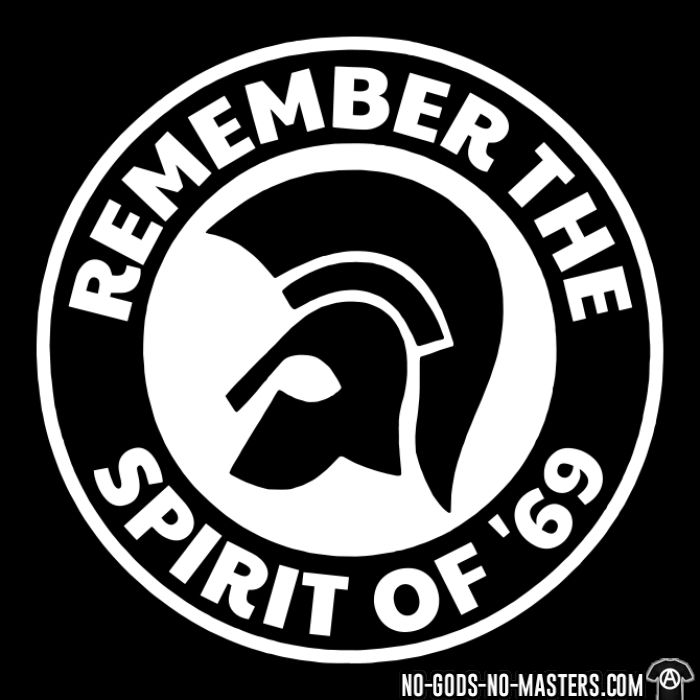 Remember the spirit of '69 - T-shirt Skinhead