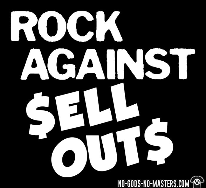 Rock against sell outs - T-shirt Punk