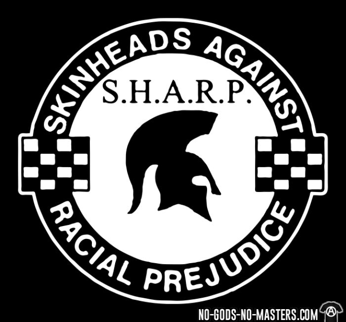 S.H.A.R.P. Skinheads Against Racial Prejudice - T-shirt Skinhead