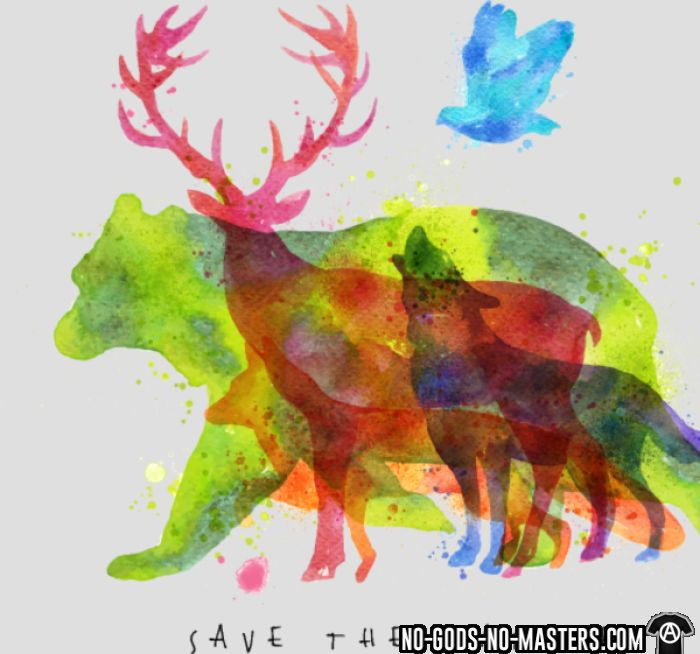 Save the nature - T-shirt Environnementaliste