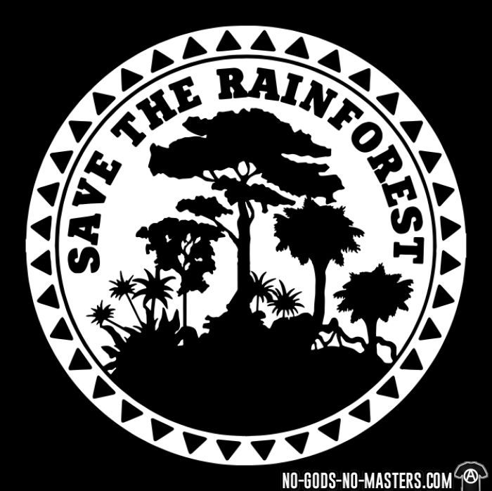 Save the rainforest - T-shirt Environnementaliste