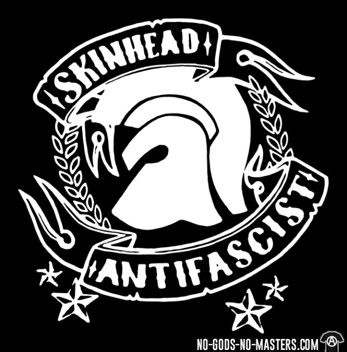 Skinhead antifascist - T-shirt Anti-Fasciste