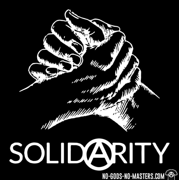 Solidarity - T-shirt Militant