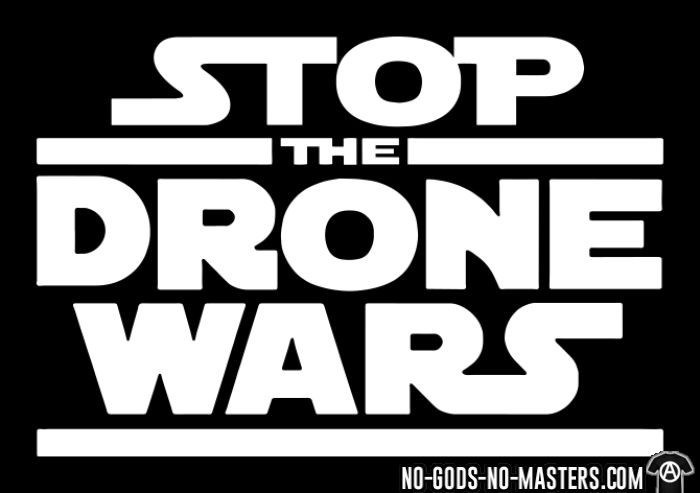 Stop the drone wars - T-shirt anti-guerre